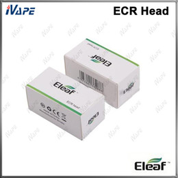 iSmoka Eleaf ECR Head 100% Original ECR RBA Coils 1.0ohm For Melo 2 Atomizer iJust 2 Tank