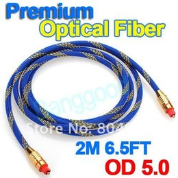 Wholesale 2015 M Toslink Digital Optical Fiber Audio Cable FT OD ADAT DAW Dolby Digital DTS for DVD HiFi Amplifiers