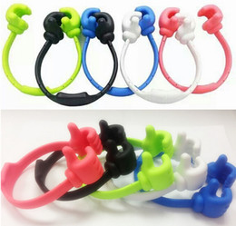 Universal phone Holder Clip Desktop Holder stand Thumb bracket for Iphone Samsung and mini tablet