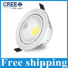 Wholesale AC85V V W W W COB led lamp led downlights dimmable recessed ceiling lights bulb down lights Australia SAA year