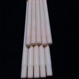 Wholesale Long supply alumina ceramic M8 bolts mm long ceramic screws M6 bith of titanium nail