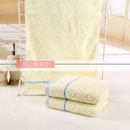 Wholesale Cotton factory direct merchandise in China knot towel washcloth supermarket counters gifts labor insurance benefits to