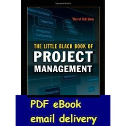 Wholesale The Little Black Book of Project Management rd Edition