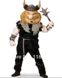 Wholesale thor Viking viktor mascot costume fancy costume cartoon character cosply theme mascotte fancy dress