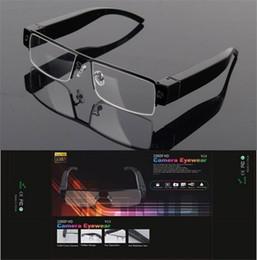 Wholesale Spy Hd Video Camera Sunglasses - FULL HD 1080P Spy hidden camera sunglasses camera video recorder mini dvr sunglasses V13 eyewear dv support TF card camcorder