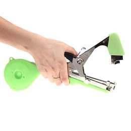 Wholesale Garden Plants Tools Agriculture Tape Tool Hand Tying Machine for Fruit Vegetable Vine Tomato Metal New