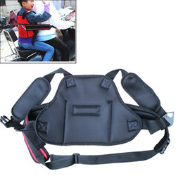 Children Motorcycle Safety Belt Children's Motorcycle Safety Strap Seats Belt Electric Vehicle Safety Harness More Secure