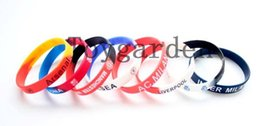 Free Shipping 20Pcs lot Colorful Football Team Sport Club Silicone Rubber Wrist Bracelets Bangles Unisex Charm Bangles