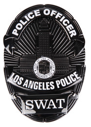 Wholesale LAPD LOS ANGELES POLICE DEPARTMENT SWAT METAL BADGE