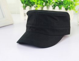 Wholesale PC New Classic Women for Men Adustable Caps Vintage Army Cap Cadet Military Patrol Adjustable Outdoors Unisex Army Hats Free Ship