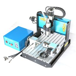 Wholesale JFT CNC Router Engraver Machine W Spindle Motor Parallel Port Axis CNC Router Mainly Used for Engraving and Milling PVC