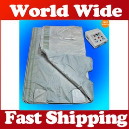 Wholesale Best quality ZONES Slimming Blanket Weight Loss Far Infrared Sauna Blanket Beauty Equipment Ray Heat NEW