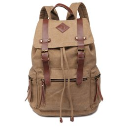 Wholesale 2015 Fashion Canvas Students School Bags Backpack Durable High Capacity Travel Bags Soft Knapsack Computer Bags