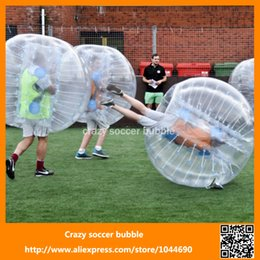 Wholesale New Amazing inflatable soccer bubble loopy ball bumper ball games
