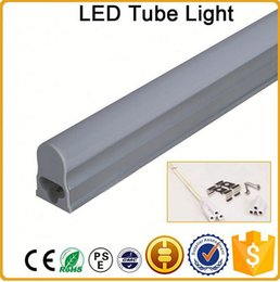 CE RoHS FCC 600mm T5 LED tube light high super bright 7W Warm nature cold white LED Fluorescent Bulbs AC85-265V integration tube