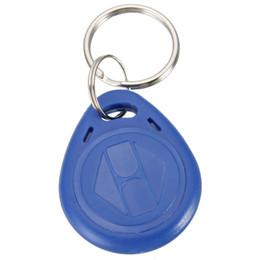 Token de tarjeta de identificación en Línea-Excelente calidad legible RFID 125Khz Proximidad tarjeta de identificación Token Tag clave Keyfobs Key Fobs Cadena Azul