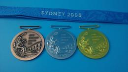 2000 Sydney Olympic Games medal 1 sets