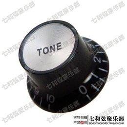 feuille d'aluminium noir de haute qualité bouton de volume de la guitare électrique / bouton de timbre / cap ton potentiomètre à partir de feuilles d'aluminium noir fournisseurs