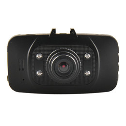 Wholesale Camcorder GS8000L P M CMOS sensor MP Car DVR Camera quot LCD Car Video Recorder IR Lights Degrees GS8000 JC C109A DHL ship
