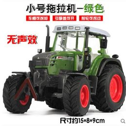 Wholesale The Farm Tractor Toy Simulation Model of Tractor Back of The Tractor Farm Model of Kids Toys Christmas Toys Gift