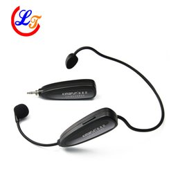 Wholesale Professional G Headset Wireless Microphone Stereo Microfone for Amplifer Computer PC Speaker Sound Automatic