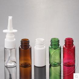 50pcs lot Multicolor 10ml nasal medical spray bottle, a small nose spray bottles