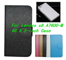 Luxury High Quality For Lenovo s8-A7600-M 4G 5.5-inch Case,Cell Phone Cover Skin For Lenovo A7600-M phone Case Free Shipping