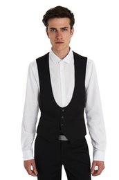 High Quality Groom Vests Charcoal Grey Groomsmens Best Man Vest Custom Made Size and Color Four Buttons Wedding Prom Dinner Waistcoat K225