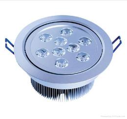 led recessed lights 9W LED Recessed Ceiling Down Light 85-265V 900lm led bulb lamp led downlight spotlight lighting free shipping