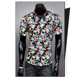 Wholesale Alex Namgyal Men Shirt Mens Dress Casual Shirts Man Mens Camisa Masculina Male Social Cotton White Short Shirt Clothes ry32