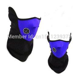 Wholesale Neoprene Winter Neck Warm Soft Breathable Face Mask Veil Sport Motorcycle Ski Bike Biker JE325