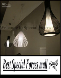 Wholesale Italy FLOS Bamboo Cages Chandeliers Modern Minimalist Restaurant Lights