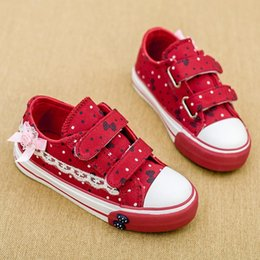 New 2015 Spring Autumn Children Shoes Fashion Lace Kids Canvas Shoes For Girl Sneakers Size 25 - 30