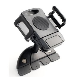 Wholesale-NEW CD Slot Car Mount Holder For iPhone 6 Plus Galaxy S5 Note 4 3 GPS LY172