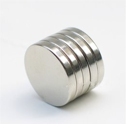 Wholesale In stock In stock mm x mm Disc Rare Earth Neodymium Super Strong Magnets N35 Craft Model