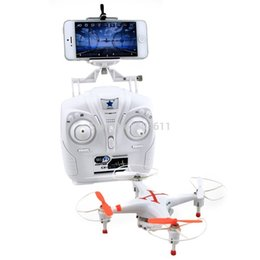 Wholesale Cheerson CX W CX30W GHz CH Axis Gyro WiFi Real Time Video RC Quadcopter UFO FPV with Transmitter MP HD Camera