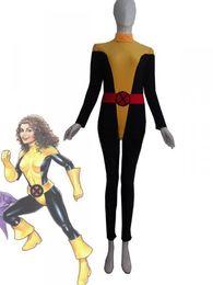 X-men Kitty Pryde Shadowcat Spandex Superhero Costume Party Halloween Cosplay party zentai suit