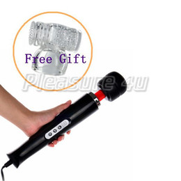 Free Shipping 15-speed Magic Hitachi Wand AV massager & Free Gift Male Attachment vibrator sex toy for man