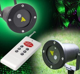 Wholesale NEW Remote Control RG Waterproof Latest Elf Laser Light Outdoor Christmas lights projector garden grass landscape decorative lights Free DHL