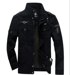Wholesale Brand men jacket plus size XL for aeronautica militare new arrival military cost outerwear sports embroidery mens jackets