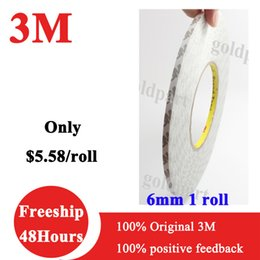 Wholesale mm W Meters Hi Temp M Double Sided Adhesive Tape For LED Strip LCD Case iPad PC Phone DVD Repair