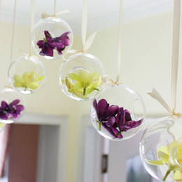 Wholesale Colgando de la boda de la burbuja de té de la vela del sostenedor de la decoración del hogar de las linternas Proveedor de boda del envío libre del ccsme