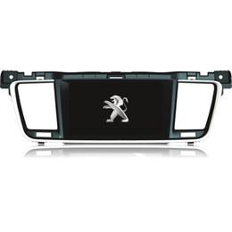 Consola gris en Línea-Dvd del coche de la pantalla táctil para la radio de GPS de la radio del dvd del coche de Peugeot 508 para Peugeot 508