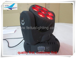 Stage light moving head led beam 7x10w rgbw 4in1 led beam moving head washer light