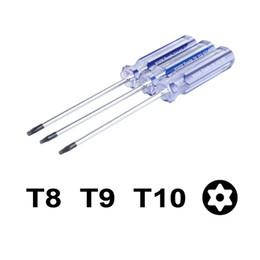 Descuento herramientas de control de xbox 1x Herramienta de reparación de destornillador Torx T8 / T9 / T10 para Xbox 360 Controlador PS3 GSE