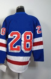 Wholesale Rangers Dominic Moore Blue Ice Winter Jersey Hockey Jerseys Authentic Stitched Mix Order Size