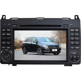 Wholesale In Dash DVD Players DIN Win CE Car DVD Players for MERCEDES B200 Inch Screen DC12V Voltage SD Card Slots Hot Sale