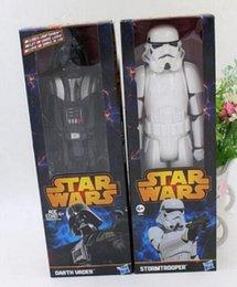 Wholesale 40pcs Action de haute qualité en PVC Star Wars Figures jouet Black Knight Darth Vader Stormtrooper