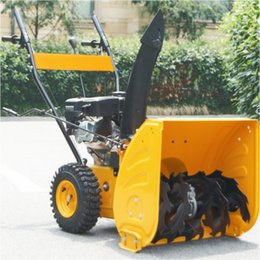 Wholesale 2016 year very hot sale mini Snow Blower Front Tractor Manual Snow Thrower Garden Gasoline Snow Throwers