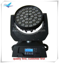(2 lot) 36x10w rgbw 4 in 1 zoom led moving head, moving head zoom